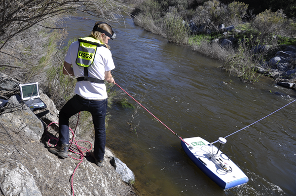 Basic hydrologic data collection, processing, analysis, dissemination, and archiving are major parts of the California Water Science Center program.
