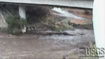 USGS Webcam captures images of flash flood