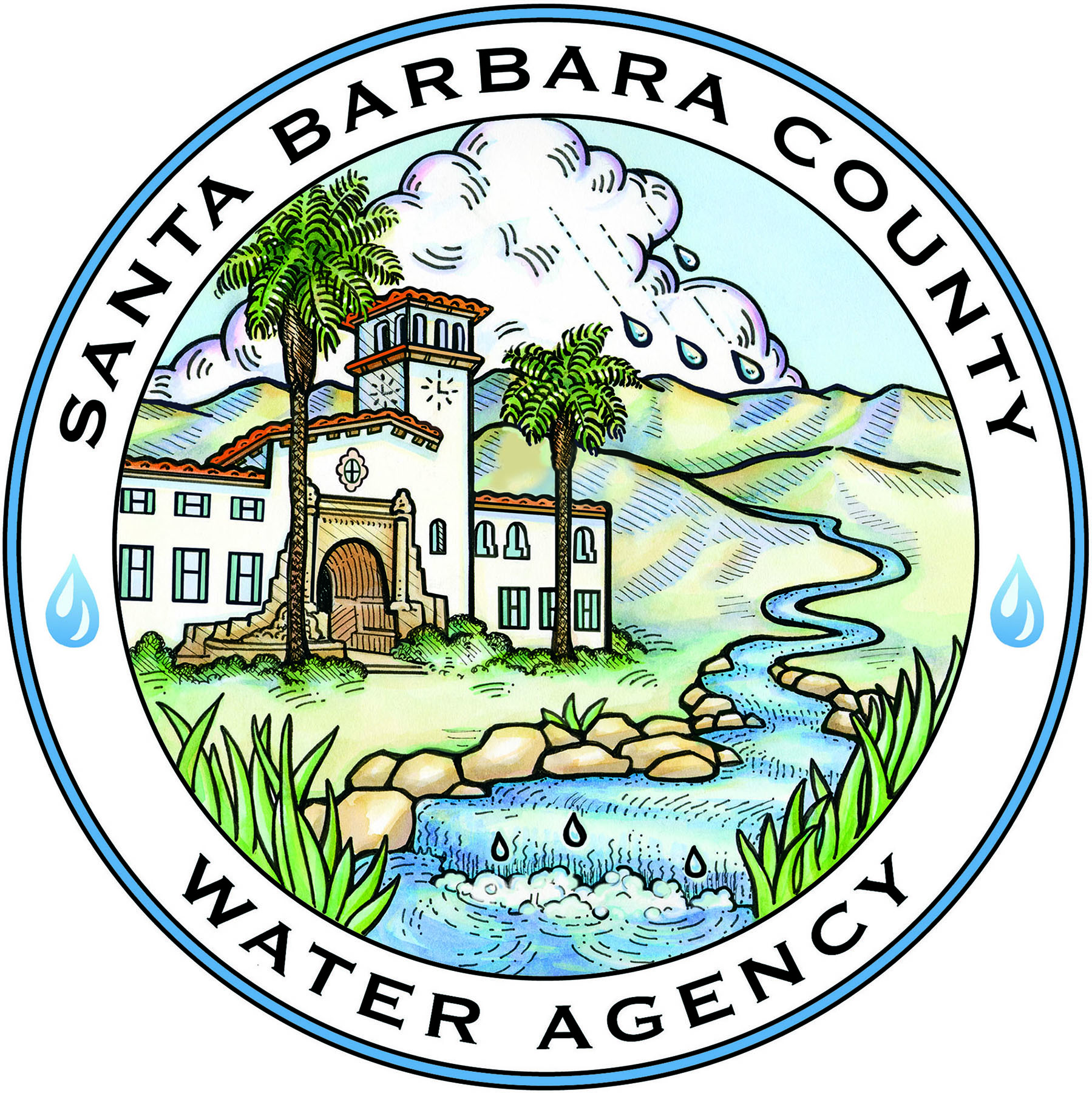 Santa Barbara County Water Agency logo