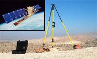 Photo of Cochella GPS setup for INSAR