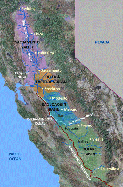 California's Central Valley | USGS California Water Science Center on