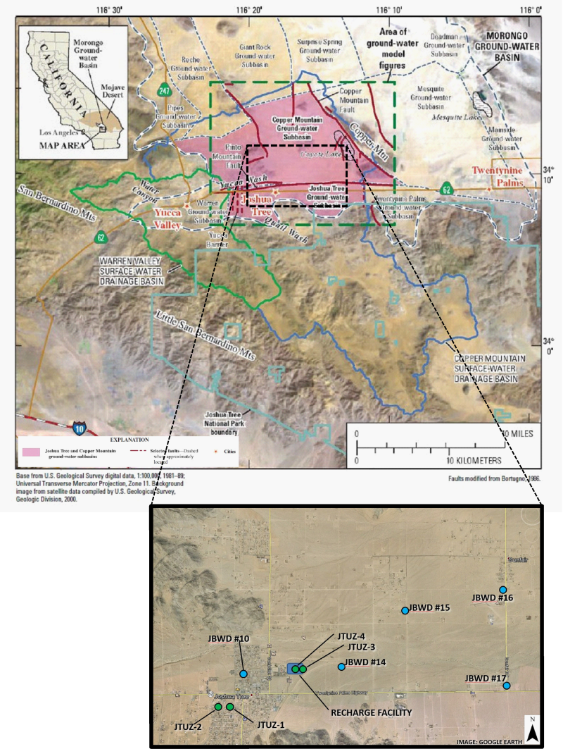 The Effects Of Artificial Recharge On Nitrate Concentrations In Groundwater In The Joshua Tree Subbasin California