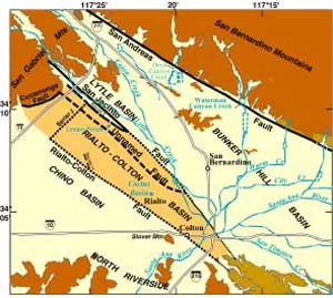 The Location Extent and Hydrologic Characteristics of the Rialto